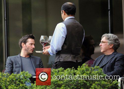 Keanu Reeves  out for lunch in Manhattan...
