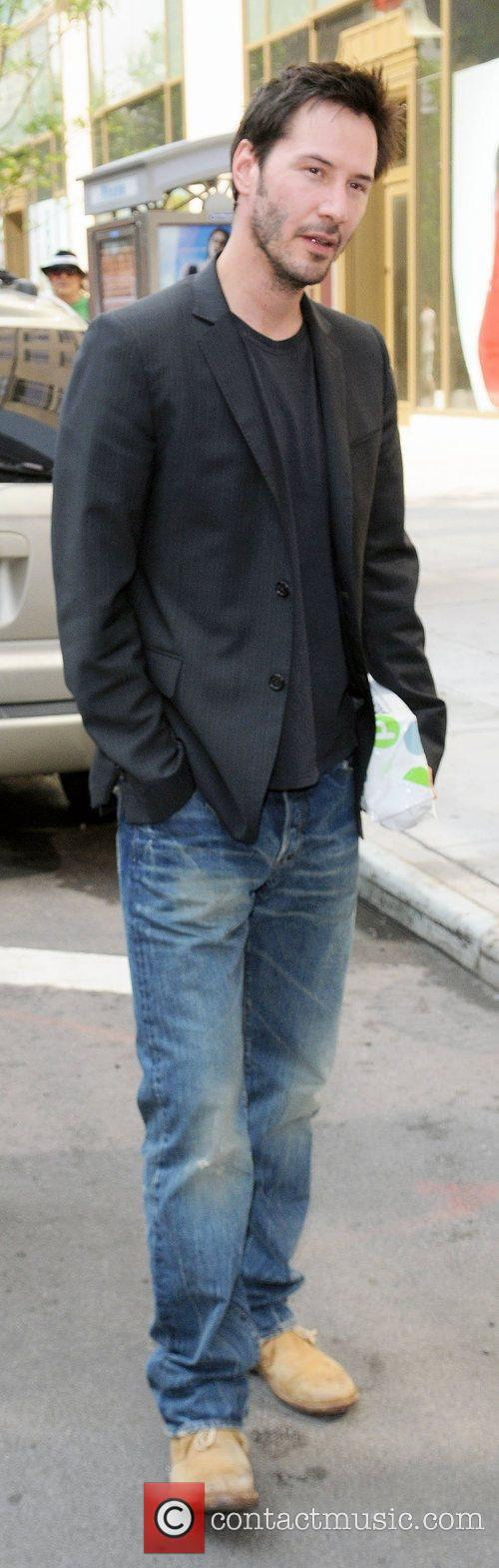 Keanu Reeves  out and about  New...