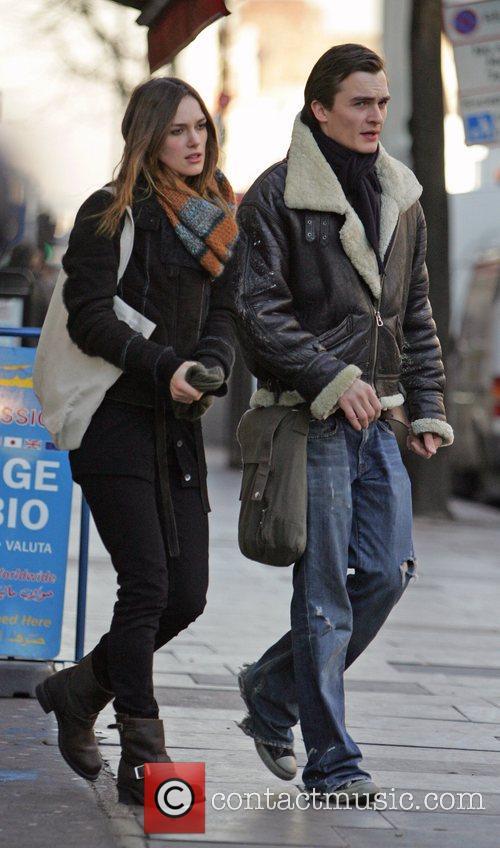 Keira Knightley and Rupert Friend 1