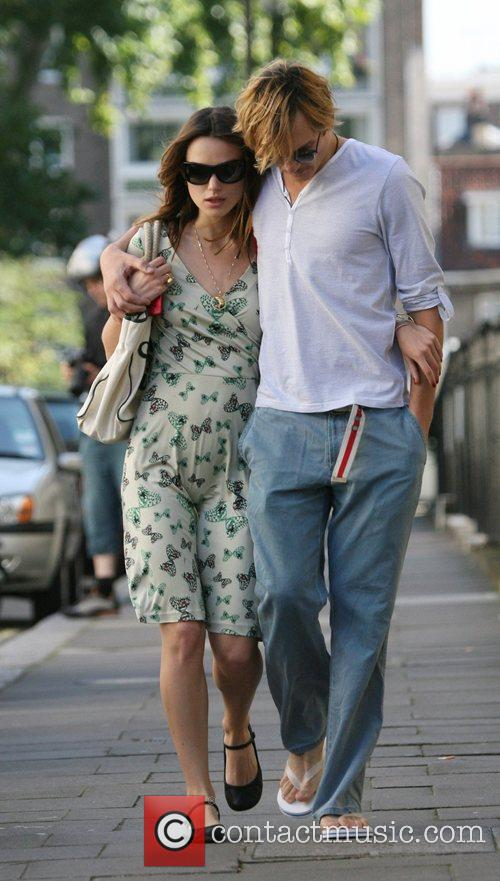 Keira Knightley and Rupert Friend 1