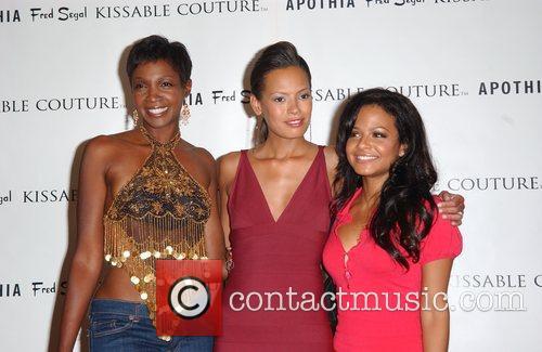 Keisha Whitaker and Celebrity makeup artist AJ Crimson...