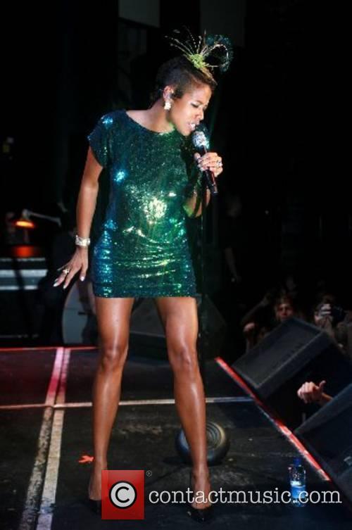 Kelis performing at G.A.Y. in the Astoria Theatre