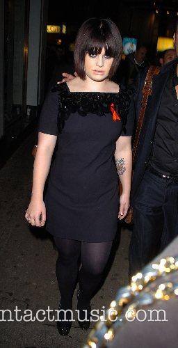 Kelly Osbourne leaving Cafe de Paris Nightclub