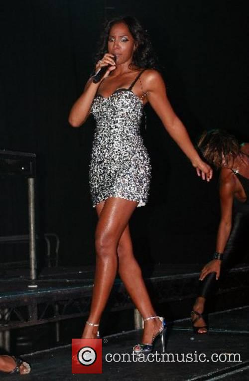 Kelly Rowland performing at G.A.Y. in the Astoria...