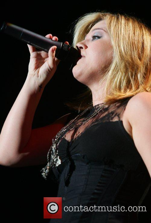 Performing live at Palladium