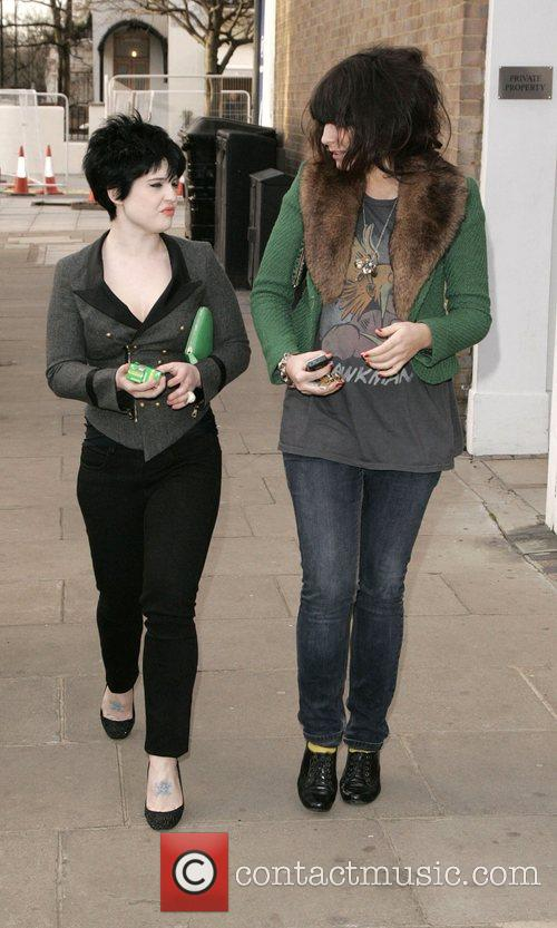Kelly Osbourne  Shopping in north London with...