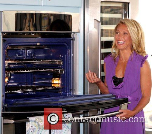 Kelly Ripa announced the launching of Electrolux's new...