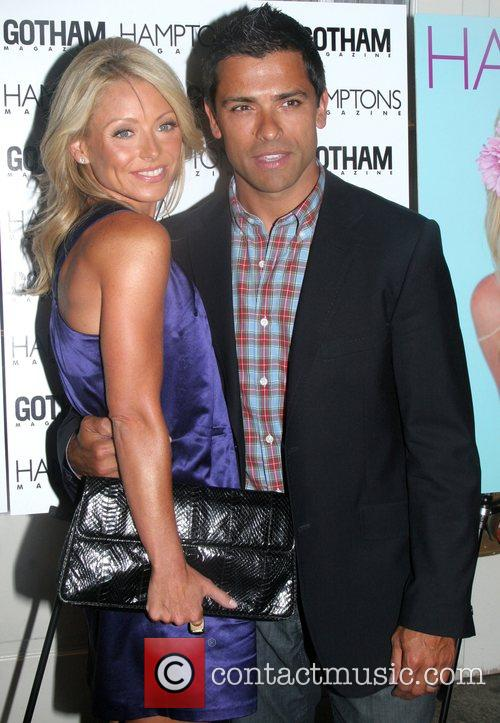 Kelly Ripa celebrates her Hamptons Magazine cover at...