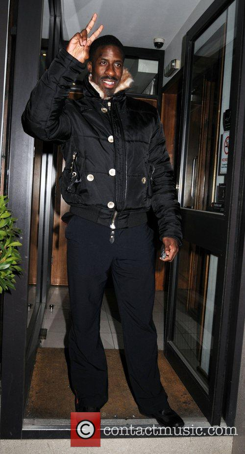 Dwain Chambers Kelly Rowland 27th Birthday party at...