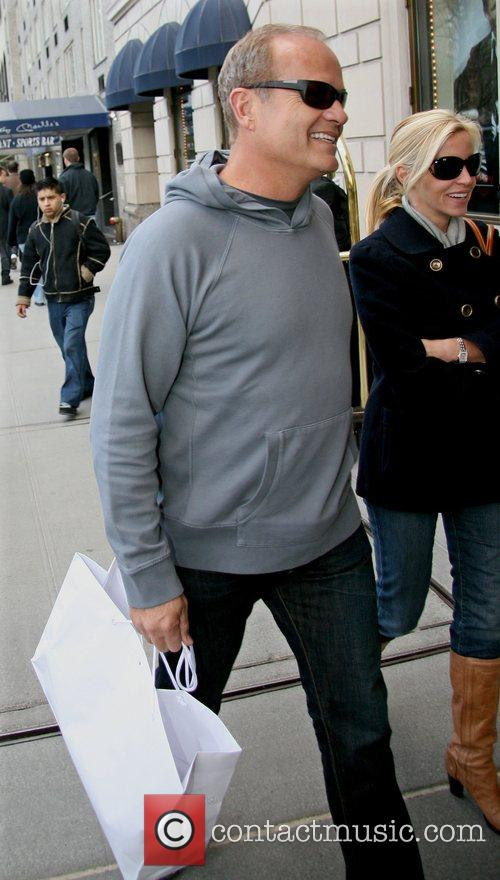 Kelsey Grammer out and about in Manhattan