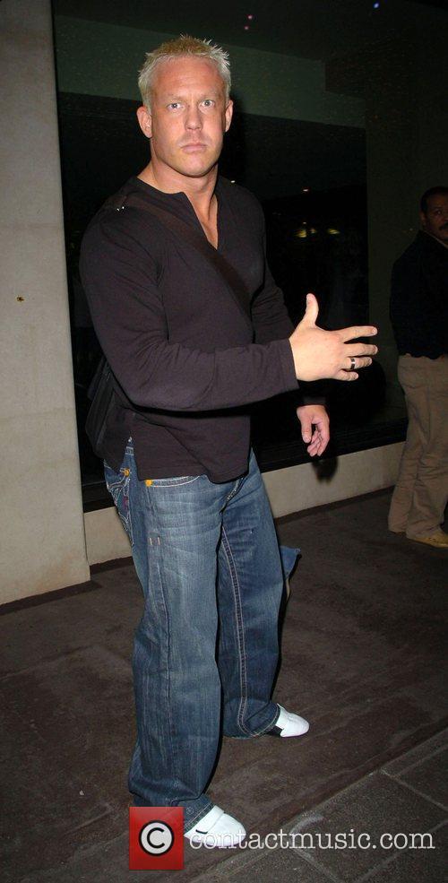 Ken Kennedy the WWE Wrestler leaving the Mayfair...
