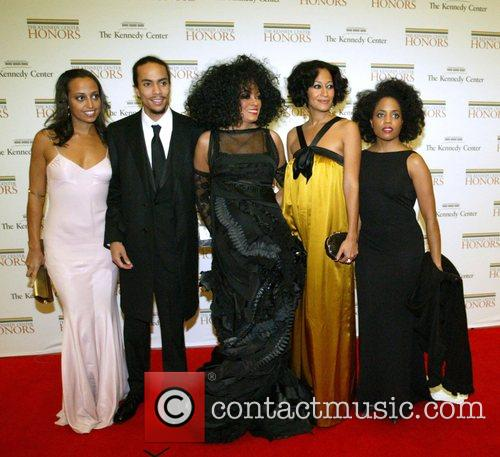Diana Ross and Family 7