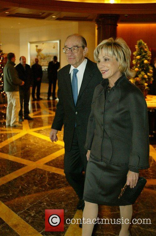 Alan Greenspan and Andrea Mitchell The 30th Annual...