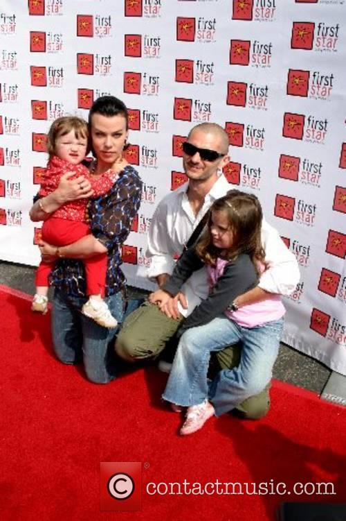 Debi Mazar and her family The Fourth Annual...
