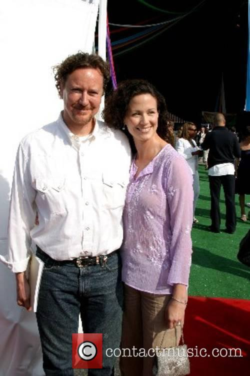Judge Reinhold and Amy Reinhold The Fourth Annual...