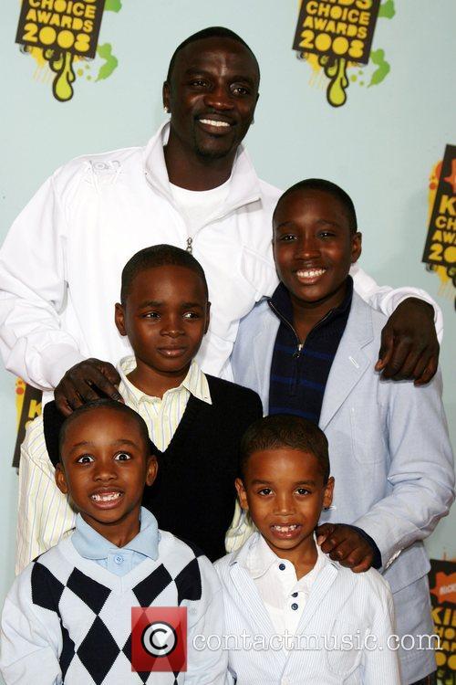 Akon, His Sons and Ucla 1