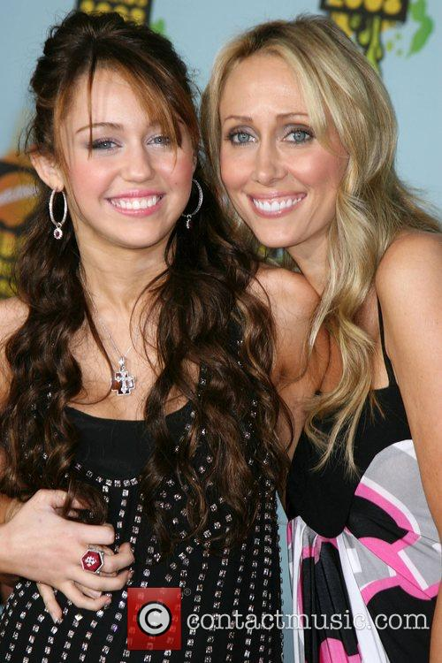 Miley Cyrus, Leticia Cyrus and Ucla 3