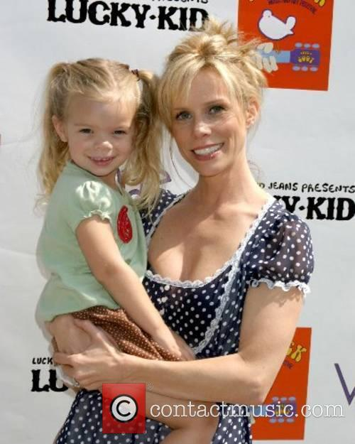 Cheryl Hines and daughter Catherine Young Kidstock Music...