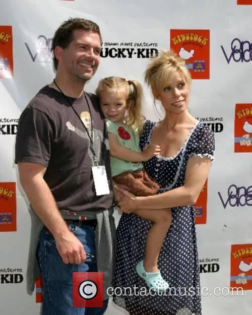 Cheryl Hines & Daughter Catherine, husband Paul Young...
