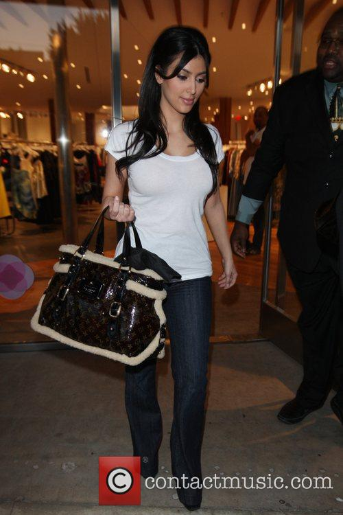 Kim Kardashian and Her Mother Kendall Shopping At Intermix Store At Robertson Blvd 8