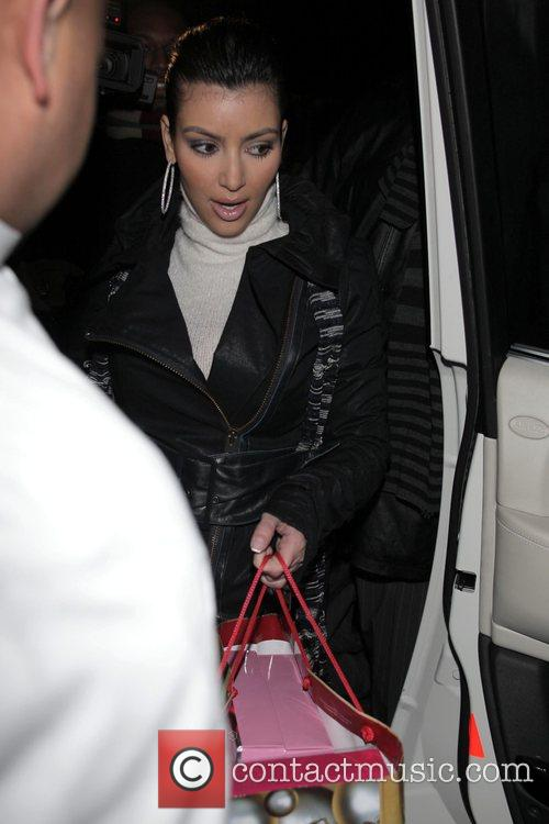 Leaving Mr Chow's restaurant all bundled up on...