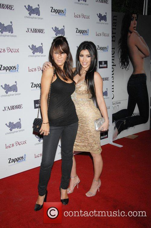 Robin Antin and Kim Kardashian 2