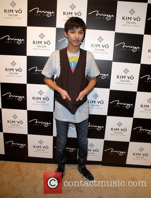 Mark Indelicato attends the grand opening Kim Vo...