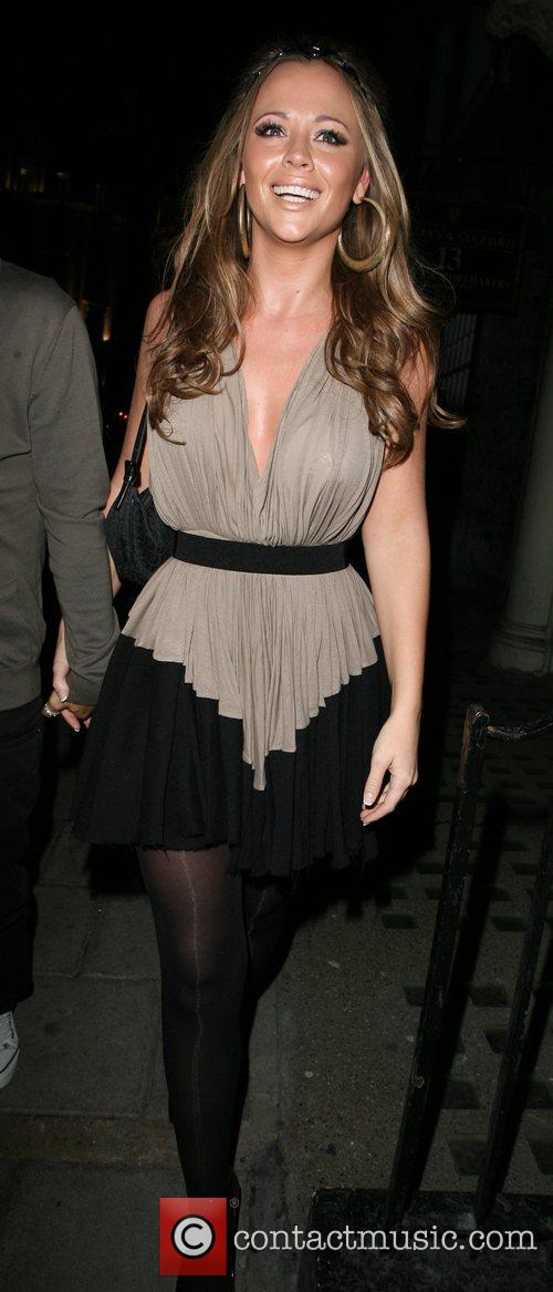Arriving at her 26th birthday party, held at...