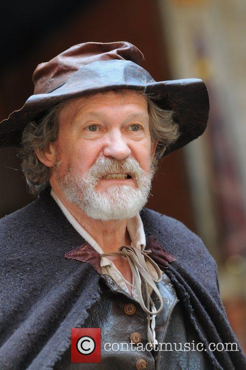 Paul Copley King Lear at Shakespeare's Globe Theatre...