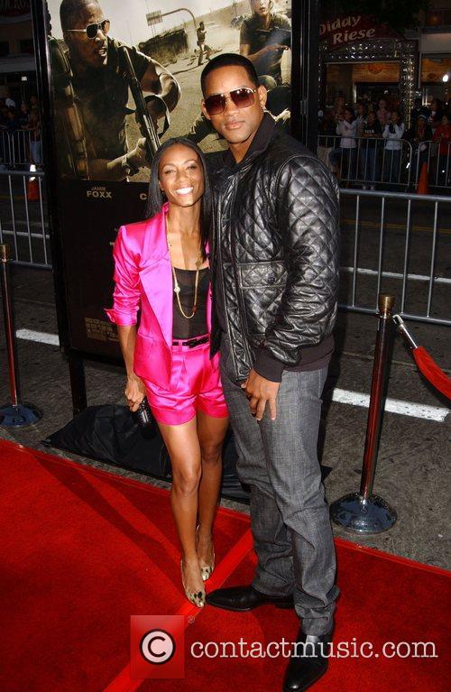 Jada Pinkett Smith and Will Smith The Kingdom...