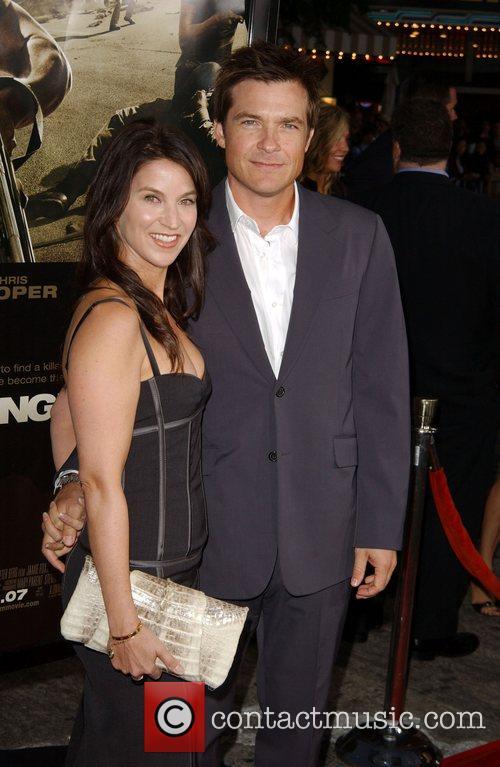 Amanda Anka and Jason Bateman The Kingdom Premiere...