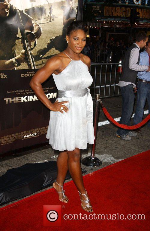 Serena Williams The Kingdom Premiere - Arrivals held...