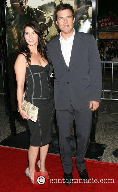 Jason Bateman and wife The Kingdom Premiere -...