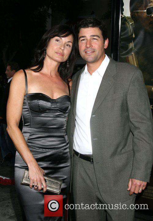 Kyle Chandler and Wife The Kingdom Premiere -...