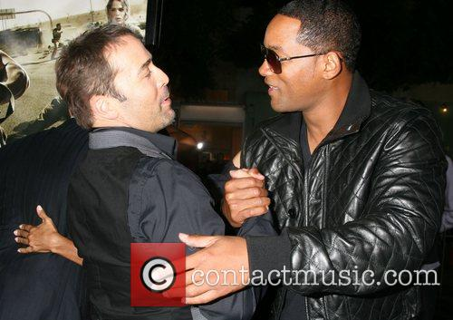Jeremy Piven and Will Smith The Kingdom Premiere...