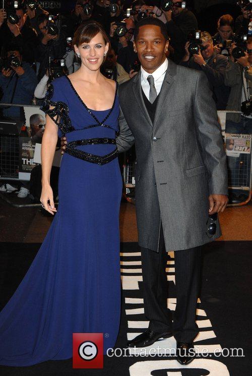 Jennifer Garner and Jamie Foxx UK Premiere of...