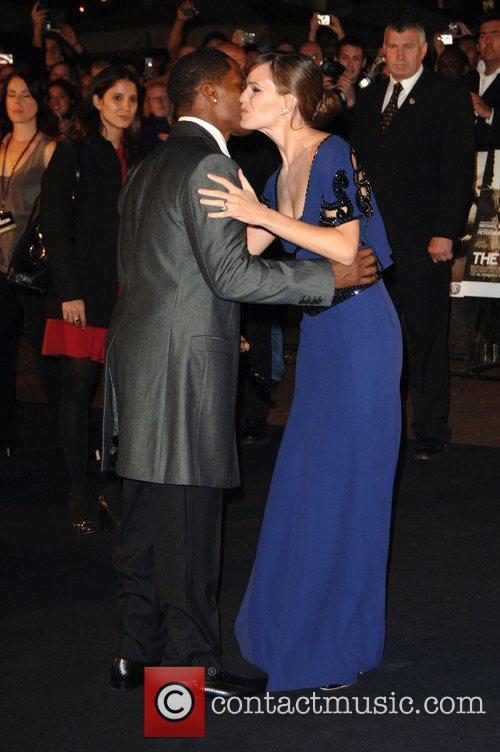 Jamie Foxx and Jennifer Garner UK Premiere of...