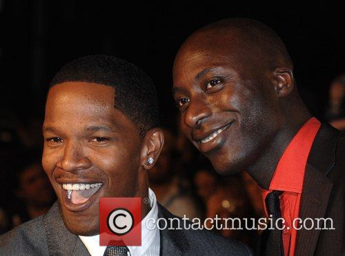 Jamie Foxx and Oswald Boateng UK Premiere of...