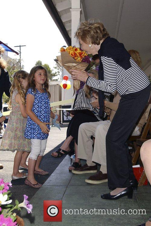 Kindergarten playground dedication ceremony at Ivanhoe Elementary School...