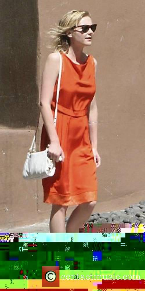 Kirsten Dunst leaving her hotel in Soho