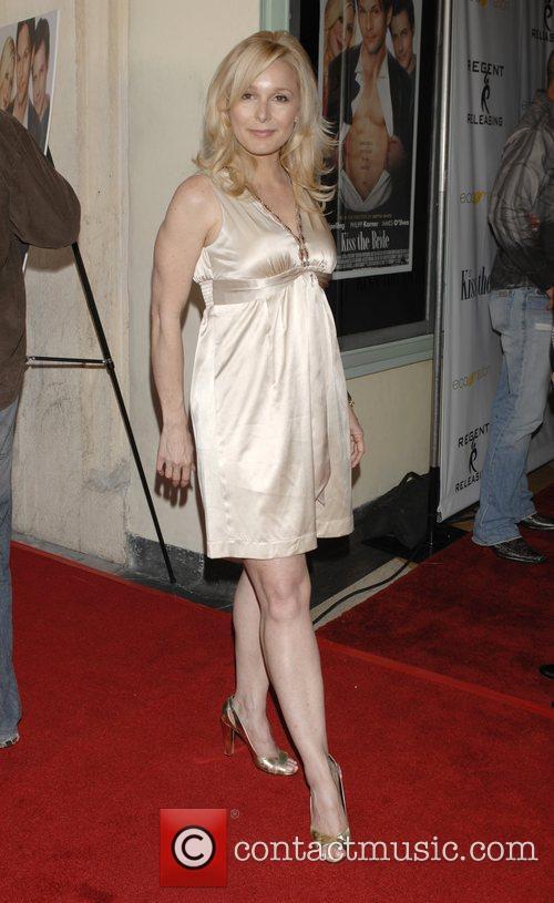 Elle Travis Los Angeles premiere of 'Kiss the...
