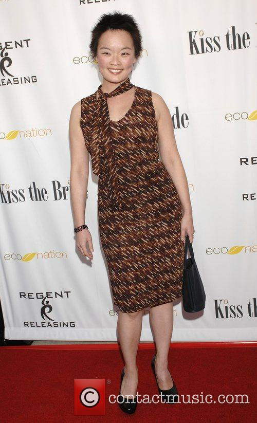 Jane Cho Los Angeles premiere of 'Kiss the...