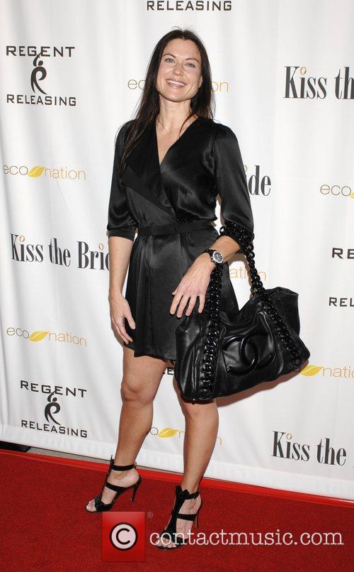 Lanne Los Angeles premiere of 'Kiss the Bride'...