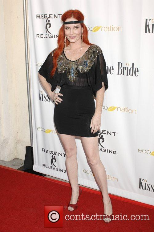Phoebe Price Los Angeles premiere of 'Kiss the...