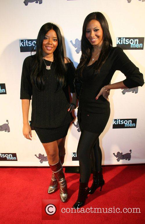 Angela Simmons and Vanessa Simmons Launch of Christopher...