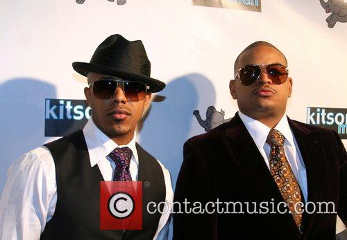 Marques Houston and Chris Stokes Launch of Christopher...