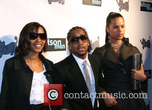 Omarion with his mother and a guest Launch...