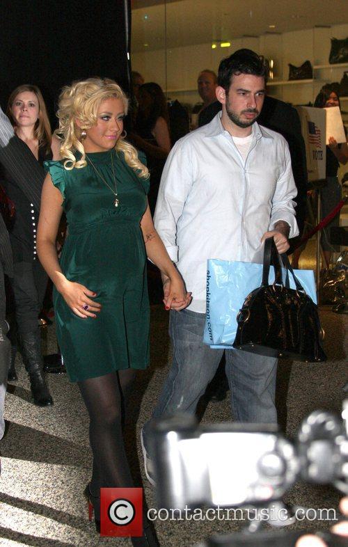 Christina Aguilera and Jordan 4