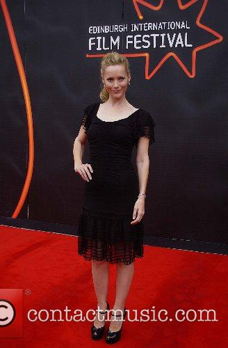 Leslie Mann  The premiere of 'Knocked Up'...