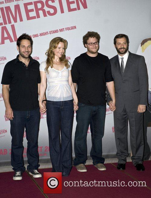 Paul Rudd, Leslie Mann, Seth Rogen and Judd...